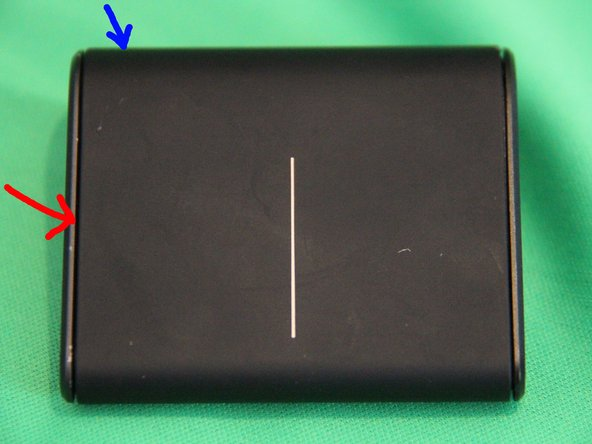 Repairing Microsoft Wedge Touch Mouse Battery Cover Retaining Clip