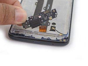 USBポートとドーターボード