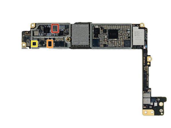 Just a few last ICs on the back of the logic board:
