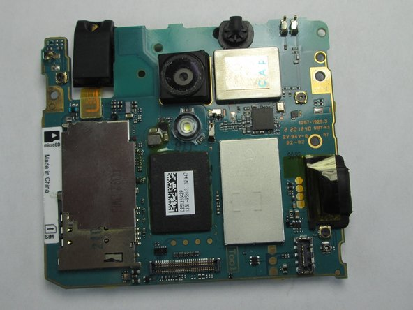 Sony Xperia TL Camera Replacement