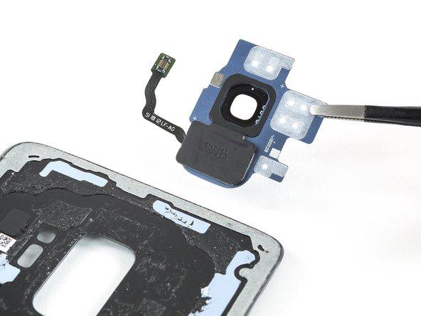 Samsung Galaxy S9 Rear Camera Bezel With Fingerprint Sensor Replacement