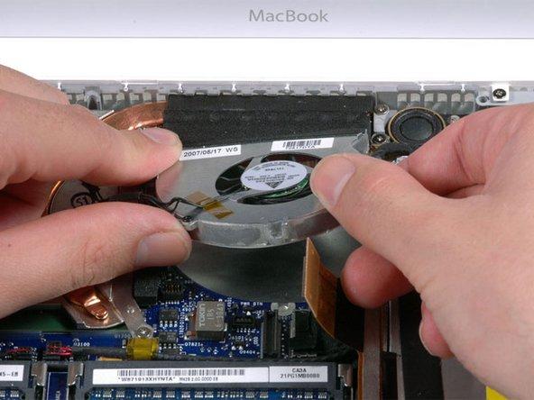 MacBook Core 2 Duo Fan Replacement