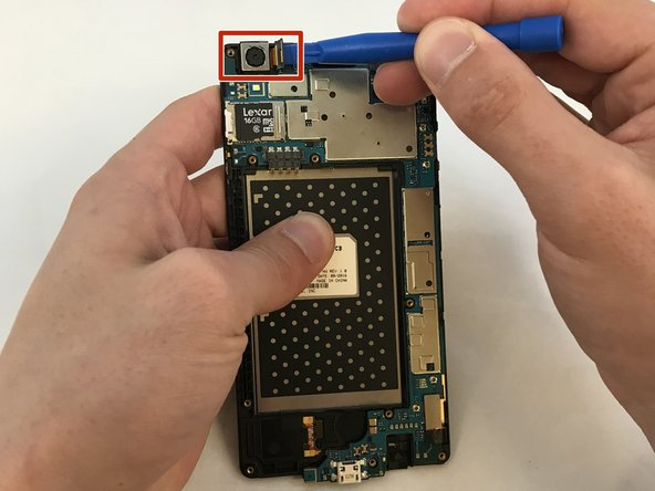 LG X Style Rear Facing Camera  Replacement