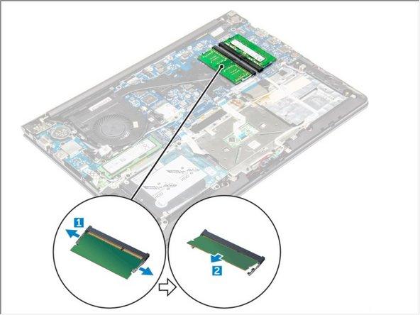 Dell Vostro 14 5468 Memory Module Replacement