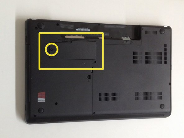 Remove the CMOS Battery Cover.