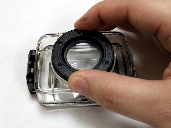 Vivitar DVR 781HD Waterproof Case Lens Cover Replacement