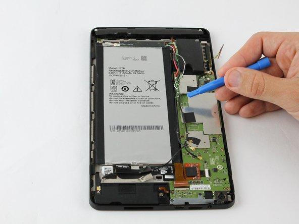 Remplacement de la batterie du Nvidia Shield Tablet K1