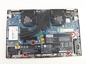 Lenovo Yoga 720-15IKB Vervanging van de batterij