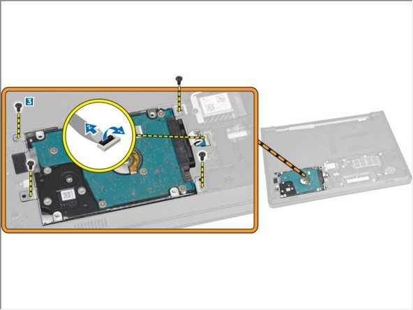 Dell Vostro 3458 Hard Drive Replacement