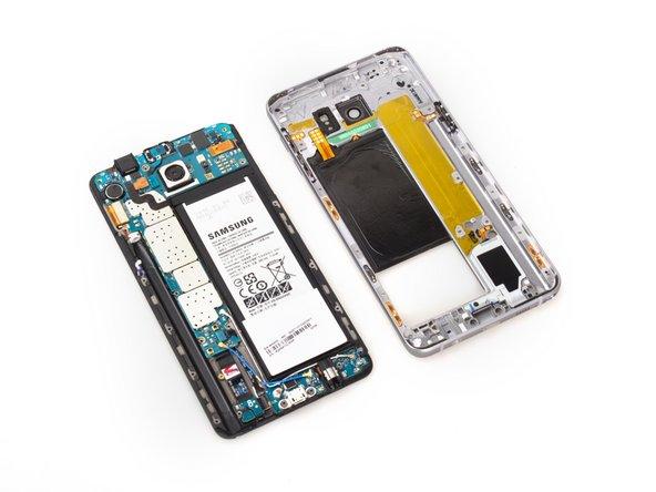 Samsung Galaxy Note5 mittleres Gehäuseteil Austausch