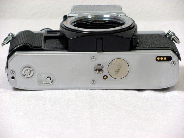 Minolta X-370 Battery Replacement