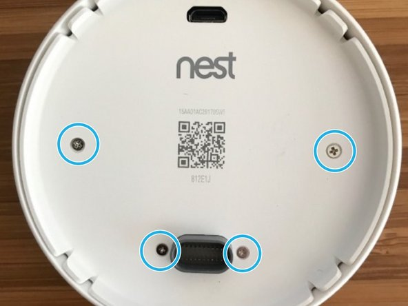 Nest Thermostat E battery replacement