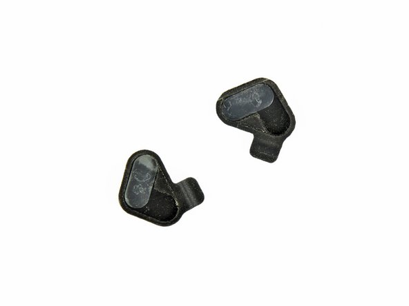 Rubber display hinge cover - quantity 2