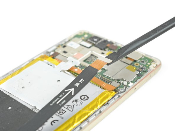 Disconnect the motherboard flex cable on both ends and take it away.