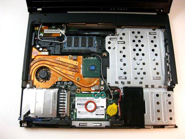 IBM ThinkPad T42 Wi-Fi Card Replacement