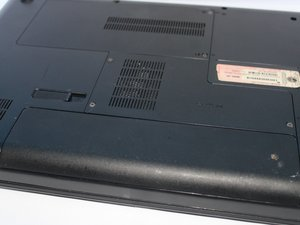 HP Compaq Presario CQ56-110US Disassembly