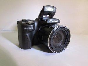 Canon PowerShot SX500 IS Troubleshooting