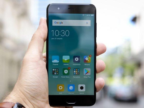 Comment réparer les dommages causés par de l'eau ou un liquide dans le téléphone Xiaomi Mi 6