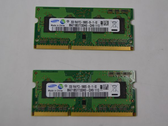 Toshiba Satellite A660-ST3NX2X RAM Replacement