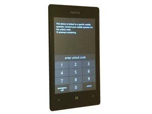 如何解锁Nokia Lumia 520