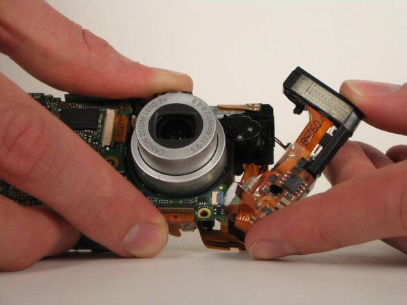 Canon PowerShot SD200 Flash Assembly Replacement