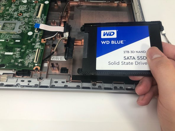 HP Pavilion 15-n232nr Hard Drive Replacement