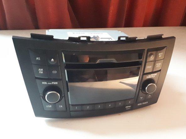 2010-2017 Suzuki Swift Head Unit Replacement