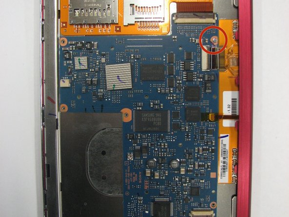 Remplacement de la carte mère du Sony Reader Touch Edition PRS-600