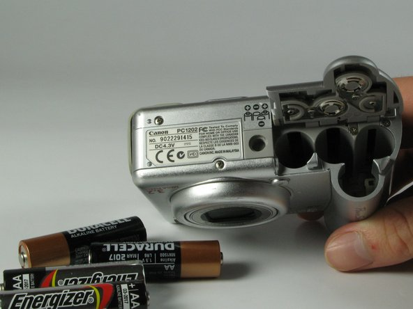 Canon PowerShot A75 Batteries Replacement