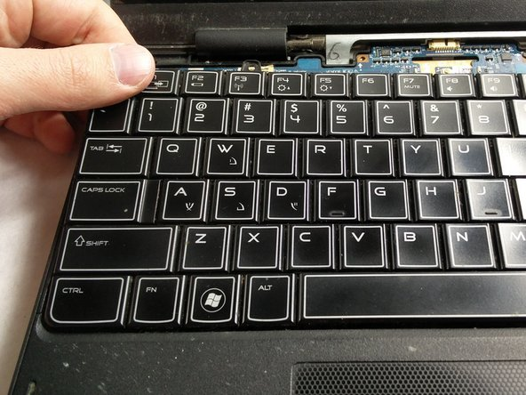Dell Alienware M11x R3 Keyboard Replacement