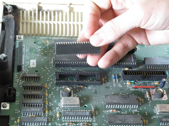 Apple IIc IC Chips Replacement