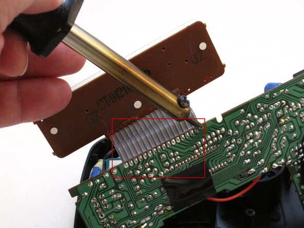 GE 7-4836B Alarm Clock AM-FM Radio LCD Panel Replacement