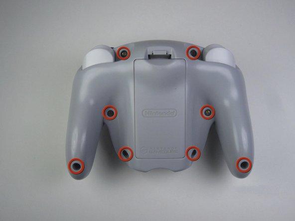 Nintendo WaveBird Wireless Controller Front Panel Replacement