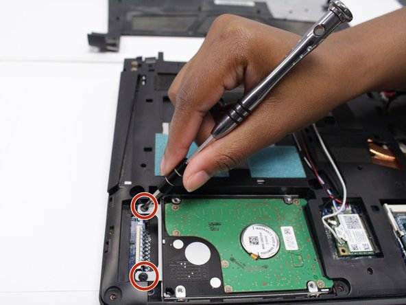 If you intend to reuse this hard drive, be careful removing it as hard impacts may damage the device.