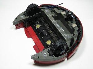 How to clean iRobot Roomba 4100 optical sensors to fix Circle Dance