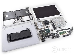 MacBook Unibody Model A1342 Mid 2010 Teardown
