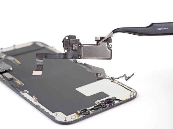 iPhone 12 Pro Earpiece Speaker and Front Sensor Assembly Replacement