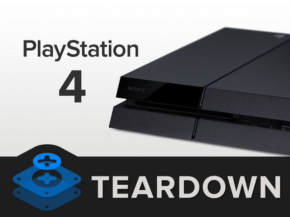 No, but really, we're tearing down the PlayStation 4. Bits we expect to find include: