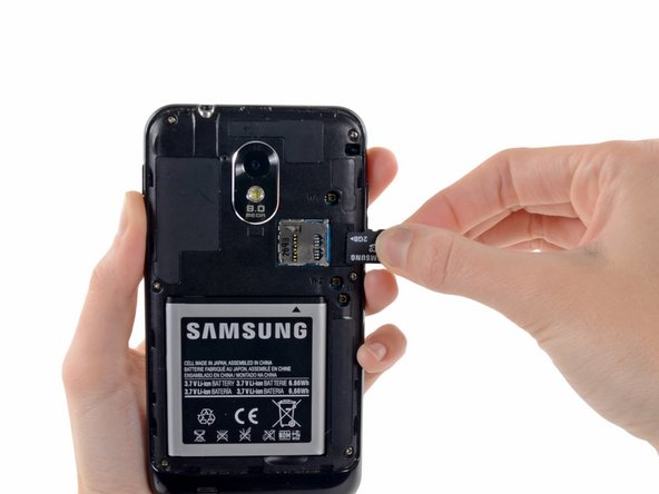 Samsung Epic 4G Touch microSD Card Replacement