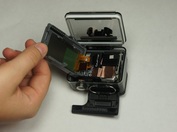 GoPro Hero+ LCD Back Panel Disassembly
