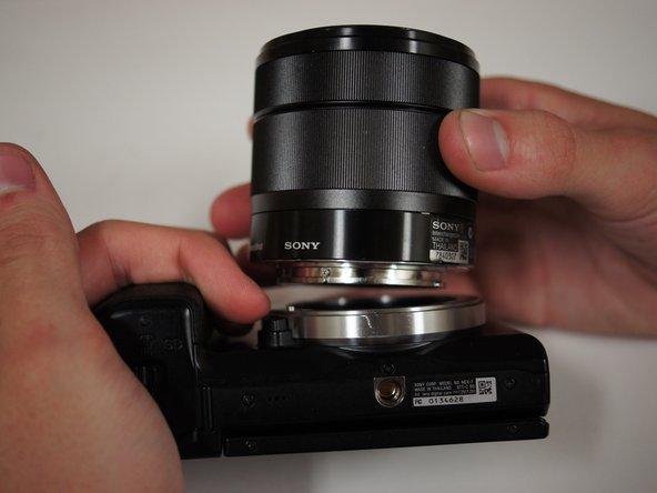 Sony NEX-7 Lens Replacement
