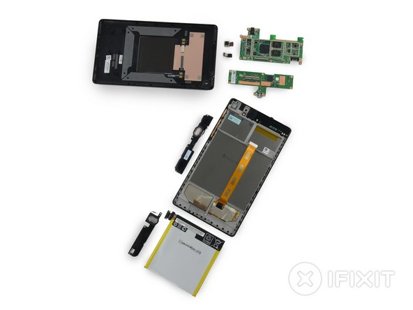 Nexus 7 2nd Generation Repairability Score: 7 out of 10 (10 is easiest to repair)