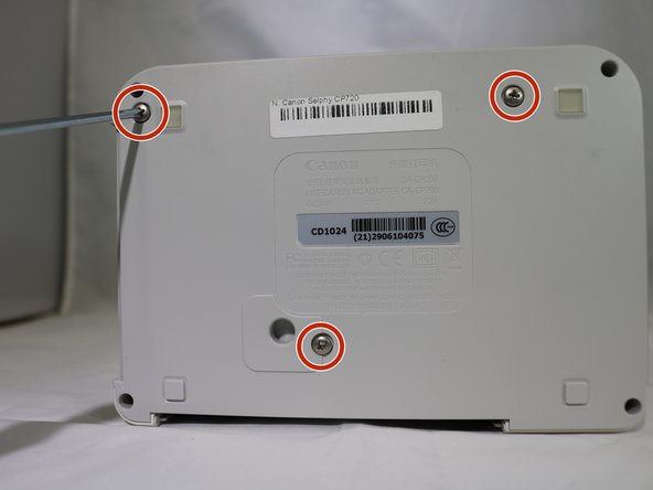 Canon Selphy CP720 Screen Replacement