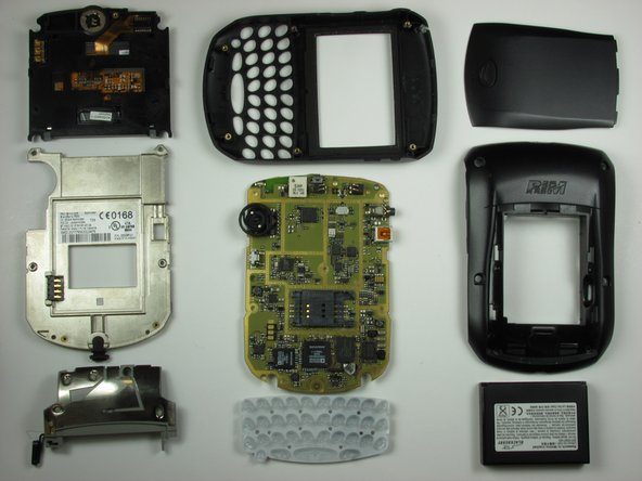 These are all the components of the phone.