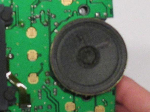 Replacing Atari Lynx Speaker