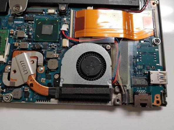Toshiba Portege Z835-P330 Internal Cooling Fan Replacement