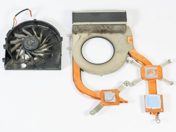 Dell XPS M1530 Fan Replacement