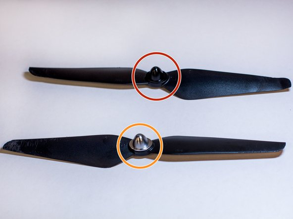 Take note of the propeller cap color (either black or silver).
