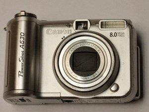 Canon PowerShot A630 Repair
