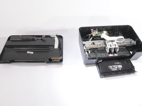 Disassembling HP Photosmart D110a Printer Hood